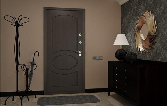 Бронированная дверь в квартире