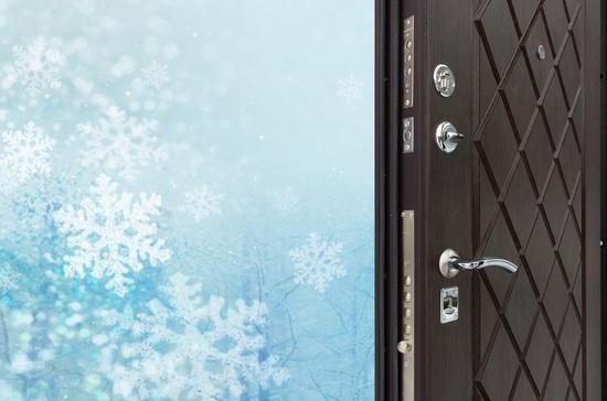Что делать если входная дверь промерзла