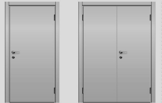 Что такое однопольные и двупольные двери. Описание отличий