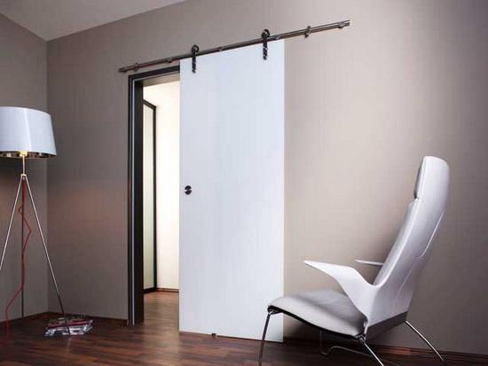 Достоинства и недостатки дверей навесного типа