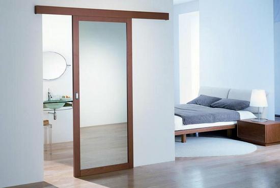 Достоинства зеркальных раздвижных дверей и их недостатки