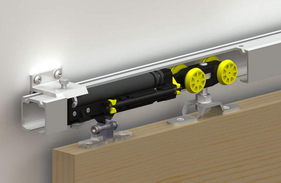 Доводчики для дверей раздвижного типа