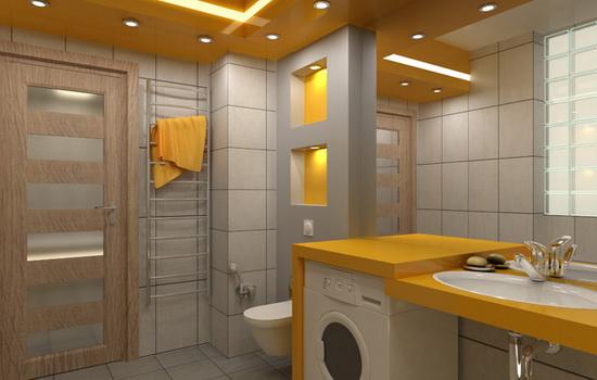 Двери из ДСП в ванную комнату