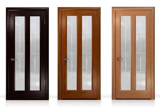 Двери могут быть покрышены в разные цвета