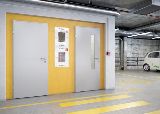 Двери стальные для общественных помещений