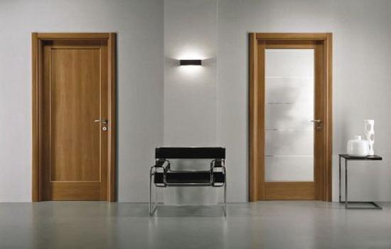 Дверные конструкции в интерьере квартиры