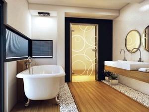 Как выбрать дверь в ванную комнату. Обзор нескольких вариантов