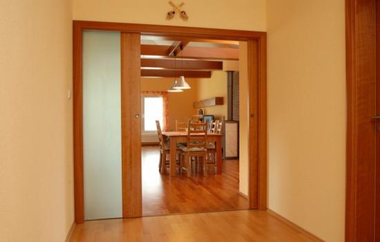 Кассетная дверь на кухню