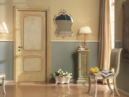 Классический стиль межкомнатных дверей