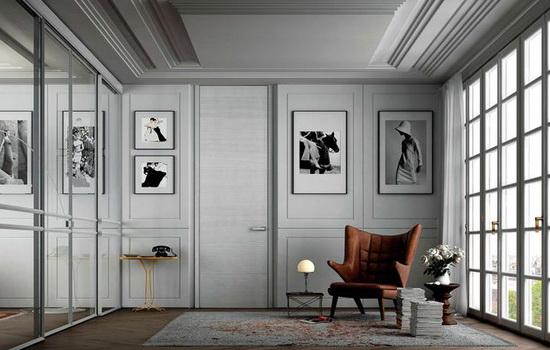 Квартира-студия с замаскированной дверью