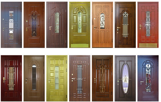 Металлические двери в тамбур