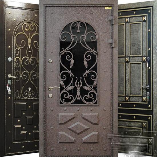Металлические элитные двери