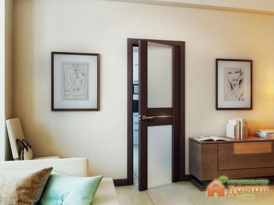 Межкомнатные двери с матовым стеклом