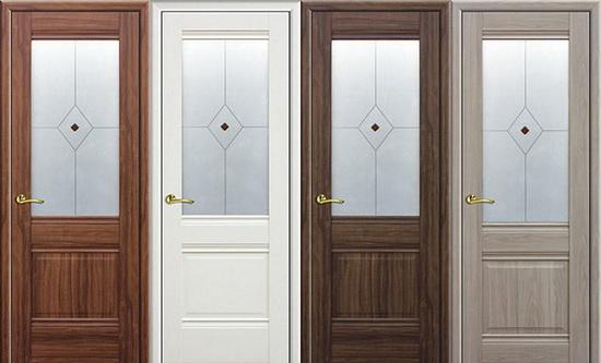 Модели дверей со стеклом
