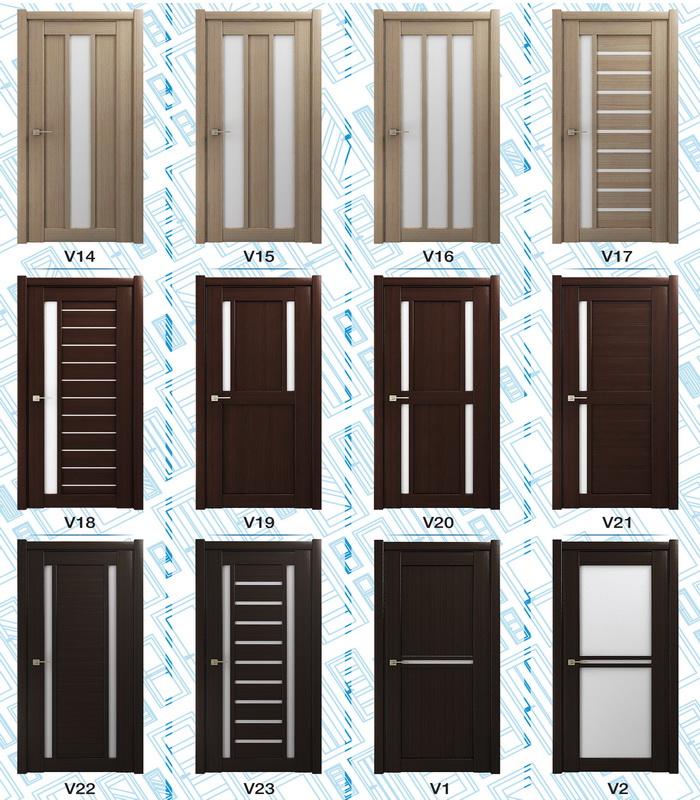 Наиболее популярные варианты царговых дверей