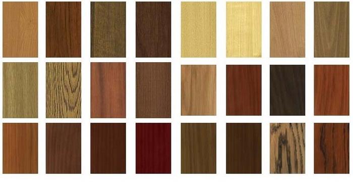 Облицовочный материал для входных дверей - деревянные панели