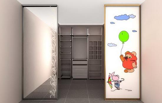 Оформление двери в детской комнате