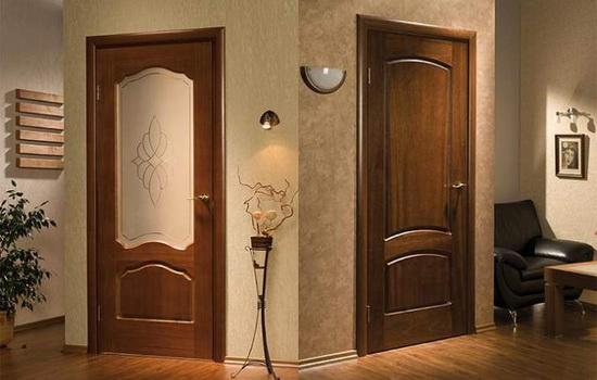 Основные правила сочетания дверей с помещением