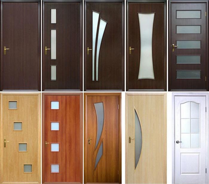 Особенности мазонитовых дверей