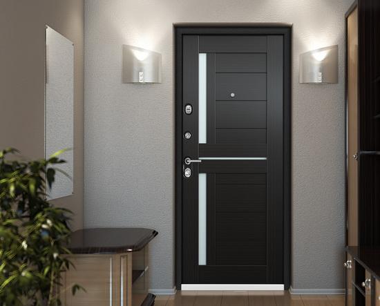 Отделка входных дверей с внутренней стороны