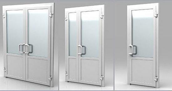 ПВХ конструкции для установки в торговое или коммерческое заведение