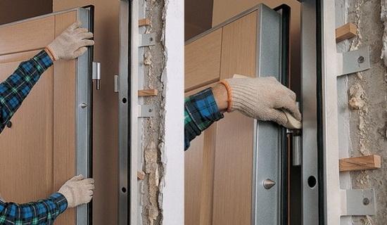 Перекос дверей – основные причины и варианты устранения