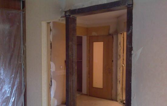 Перенос дверного проема