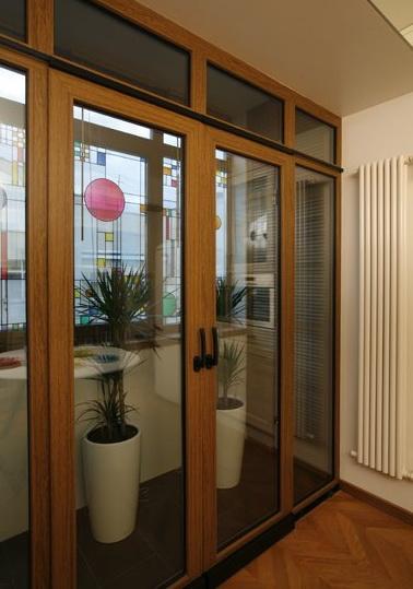Подъемно-раздвижные балконные двери