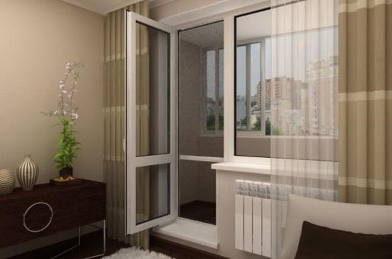 Правила выбора балконных дверей из ПВХ