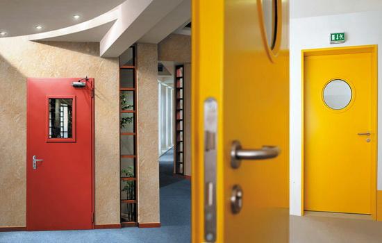 Предназначение металлической противопожарной двери
