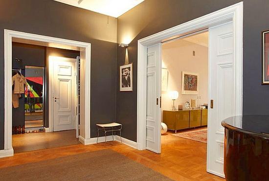 Преимущества раздвижных дверей в стену