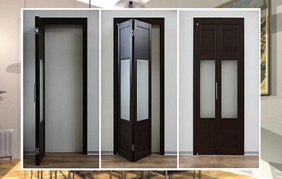 Принцип действия дверей-гармошек