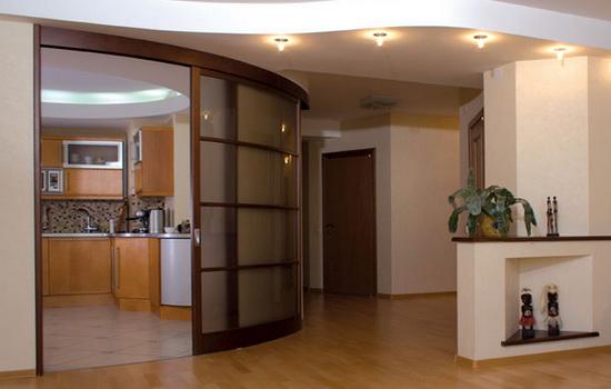 Радиусные межкомнатные двери - идеальное сочетание с интерьером
