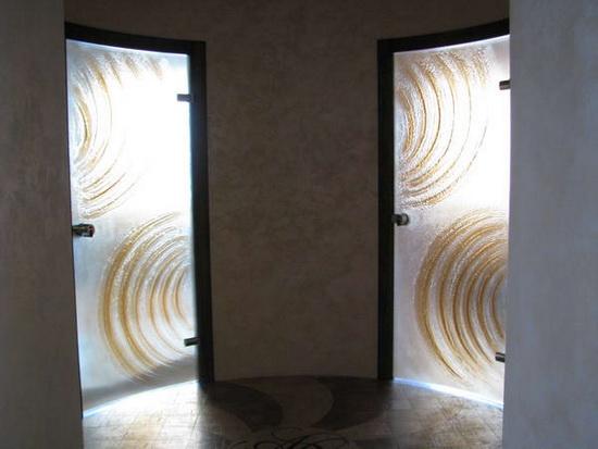 Радиусные (полукруглые) двери