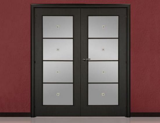 Распашные межкомнатные двойные двери
