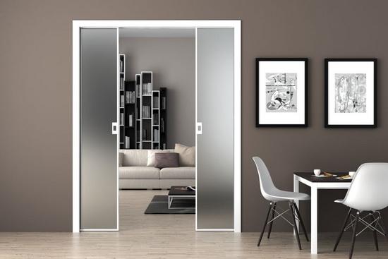 Раздвижные дверные системы с прочным стеклом