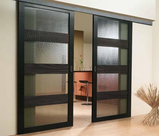 Раздвижные двойные межкомнатные двери