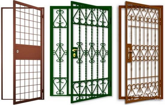 Решетчатые двери. Описание особенностей конструкции и области применения