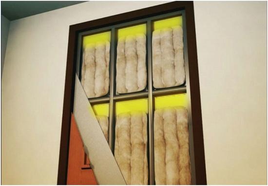 Шумоизоляция межкомнатной двери