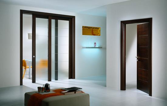Сдвижные двери в интерьере квартиры