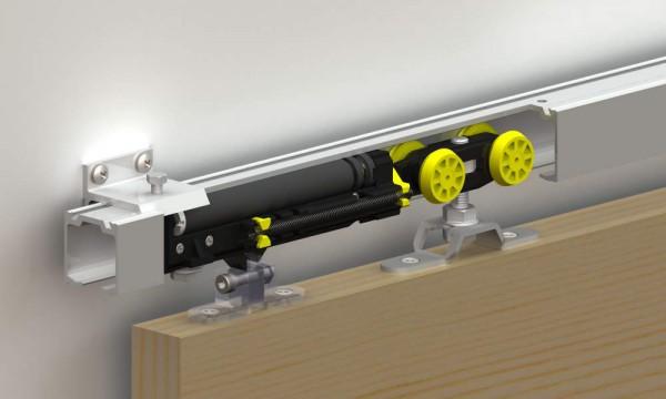 Системы скольжения в дверях раздвижного типа
