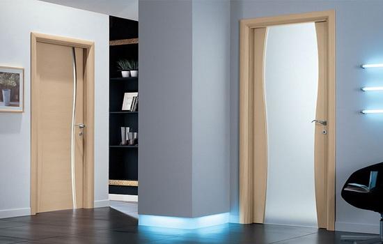 Современные деревянные двери