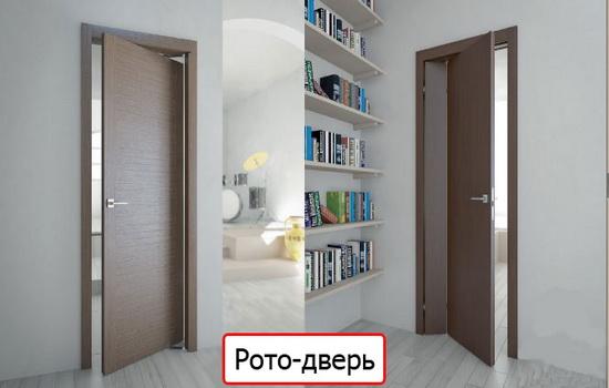 Так выглядит рото-дверь