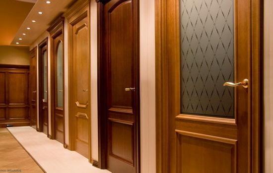 Устройство ламинированной межкомнатной двери
