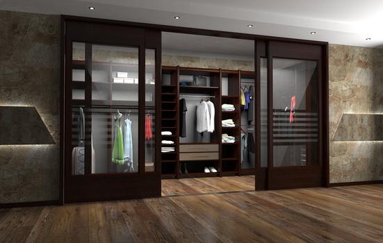 Варианты оформления дверей в гардеробную