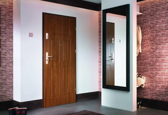 Входная дверь в интерьере квартиры