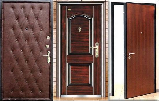 Внешний вид тамбурных дверей - внутри и снаружи