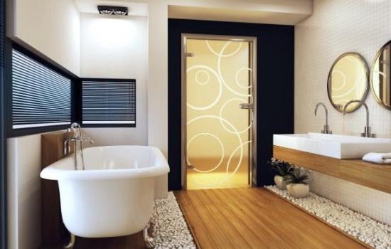 Выбор двери в ванную комнату