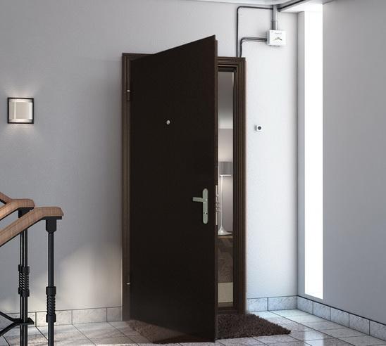 Выбор материала входной двери