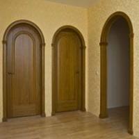 Арочные двери. Описание видов, достоинств и недостатков